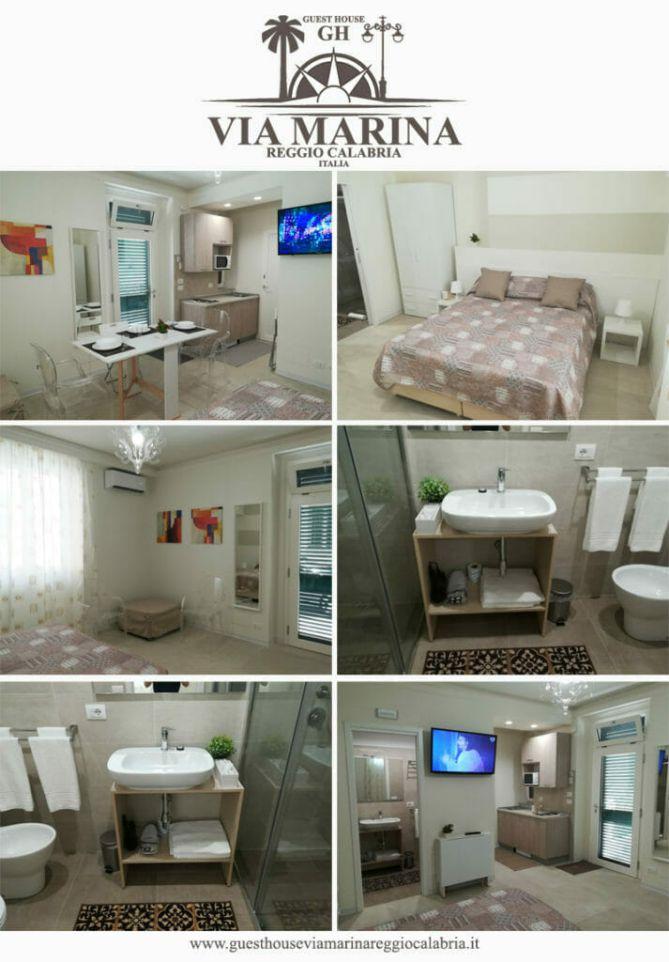 guest house via marina reggio calabria centro hotel lungomare bagno cucina luxury